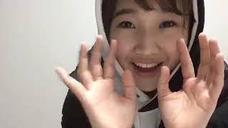프로듀스48에 출연했던 야마다 노에(山田 野絵)의 2018년 11월 29일자 ...
