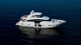 The Princess 88 Motor Yacht - Launching Spring 2013