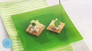 Martha Stewart's Crabmeat, Cilantro, And Lime Ceviche Appetizer - Martha Stewart