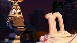 DreamWorks Madagascar   Happy Birthday Song - Alex Wants to Escape   Clip Movie   Kids Movies