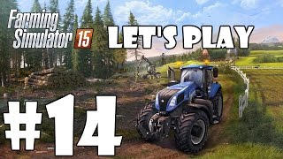 Lets Play Farming Simulator 15 - Episode 14 - At The Grass
