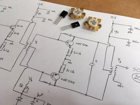 Homebrew 80/40/20m SSB Rig Part 8 - RF Power Amplifier Ideas
