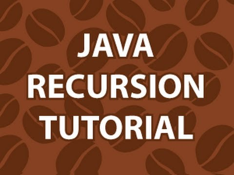 Java Recursion - YouTube