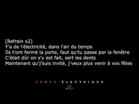 Columbine - Temps Électrique [PAROLES/LYRICS]