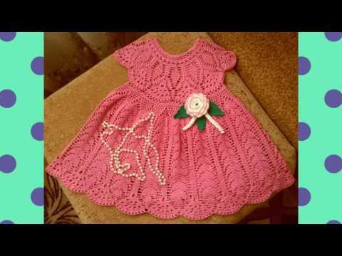 Vestidos A Crochet Para Niña De 3 Años Youtube
