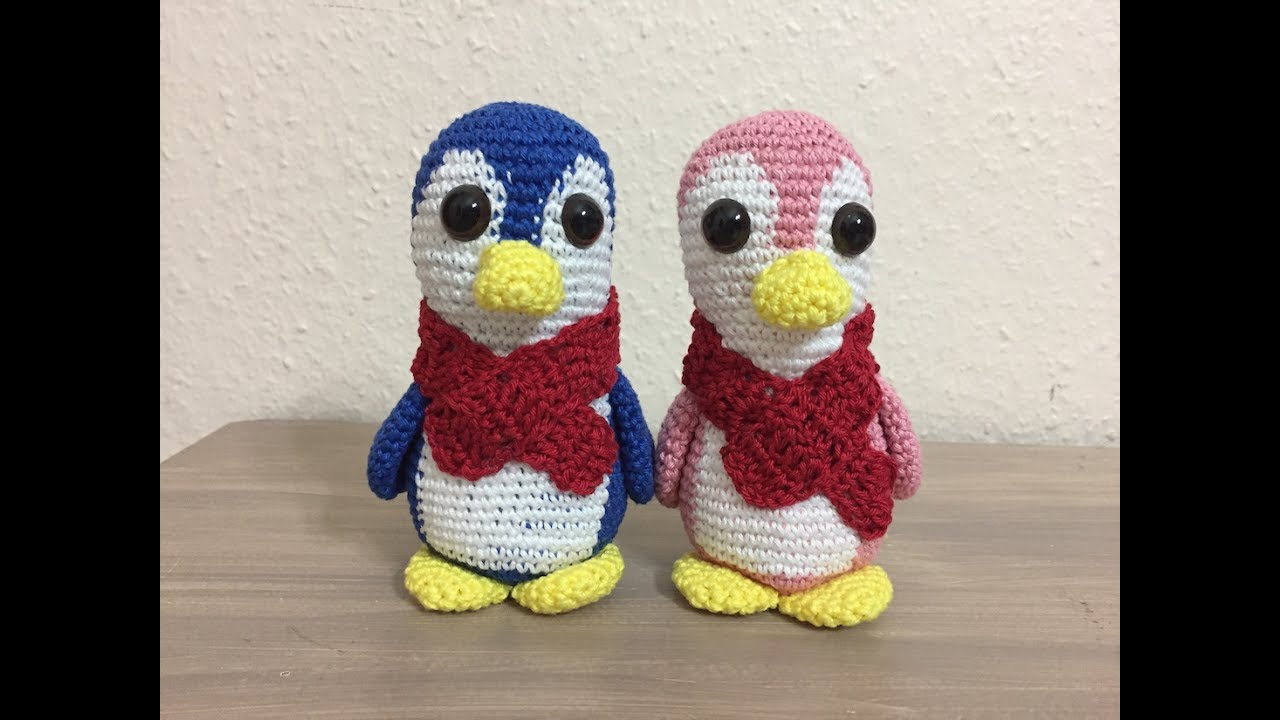 Tutorial Amigurumi Pinguino : Tuto amigurumi pingouin au crochet youtube
