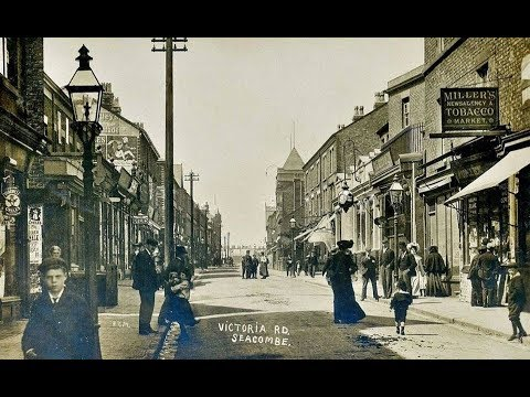 Walk back in time from Poulton to Seacombe in old Photographs
