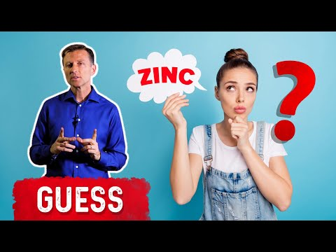 The First Sign of a Zinc Deficiency is...