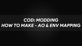 Wie machen AO, Env mapping & Korrekte Reflexionen