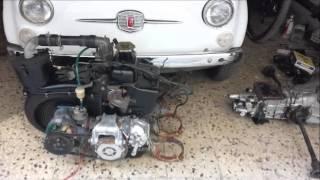 restauro fiat 500 L 1972 avorio