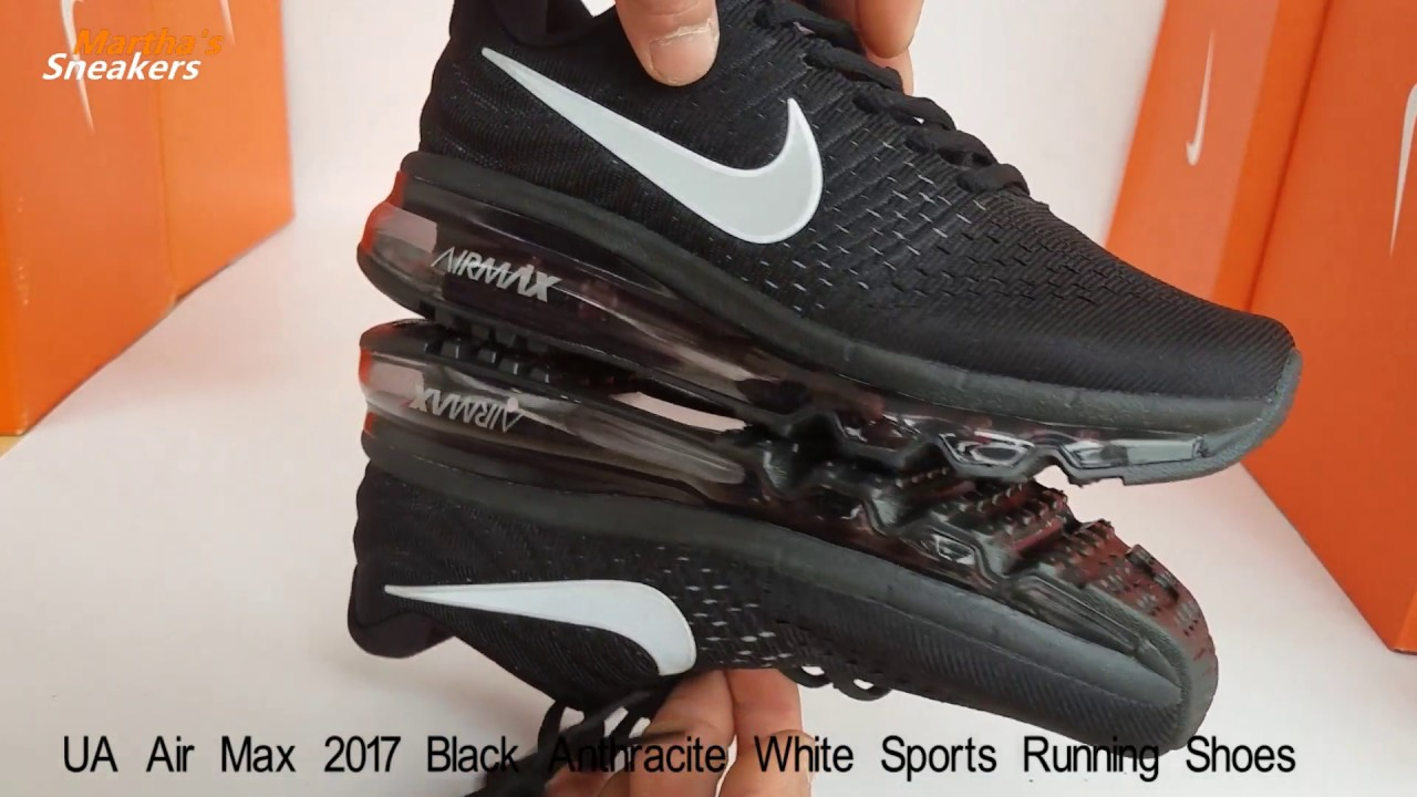 NIke Air Max 2017 Herren Dames Zwart Goedkoop wit Sale ...