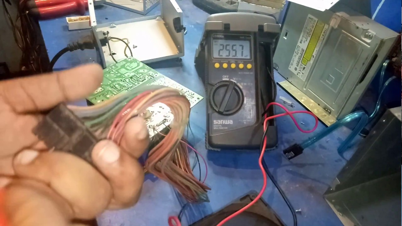 How to repair Power-supply check | ATX Pin Out | Bangla tutorial ...