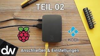 🎬 Kodi auf Raspberry Pi 3 installieren ► LibreELEC 2017 | Deutsch | # Teil 02 Anschließen & Einst.
