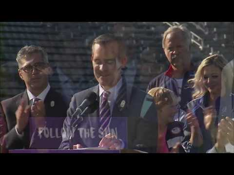 LA reaches deal to host 2028 Summer Olympic Games