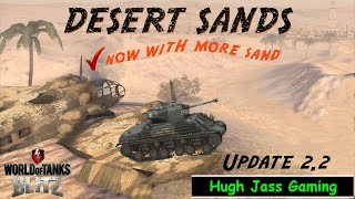 World of Tanks BLITZ - Desert Sands Map Update - Update 2.2