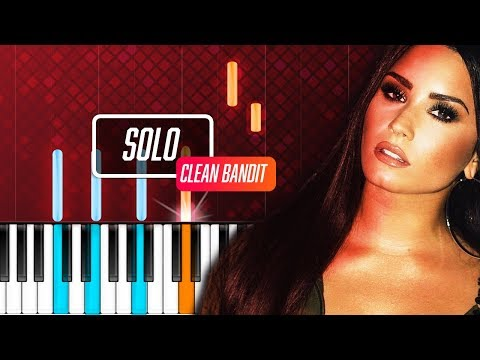 Clean Bandit - Solo ft Demi Lovato Piano Tutorial - Chords - How To Play - Cover