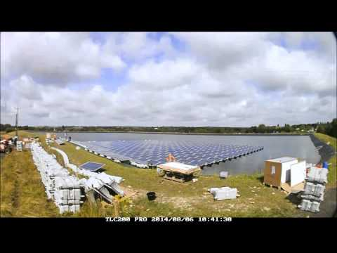 Sheeplands Farm 200kW Floating Solar