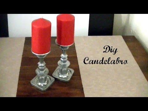 Diy: Como transformar unos  candelabros