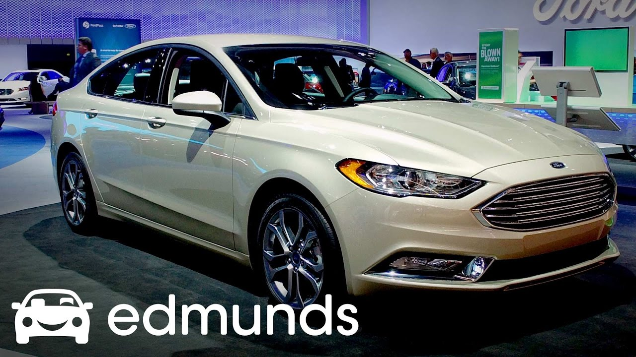 2017 Ford Fusion Review Features Rundown Edmunds