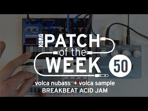 Download PatchoftheWeek50: volca nubass + volca sample BREAKBEAT ACID JAM