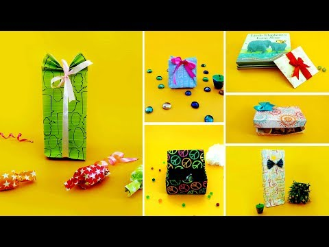 6 Best DIY Gift Bags & Boxes | Best DIY Video | 1 Minute Crafts