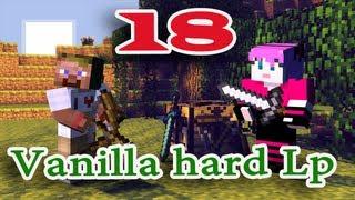ч.18 Minecraft Vanilla hard Lp - Обустраиваем ферму костей и стрел (воронка)