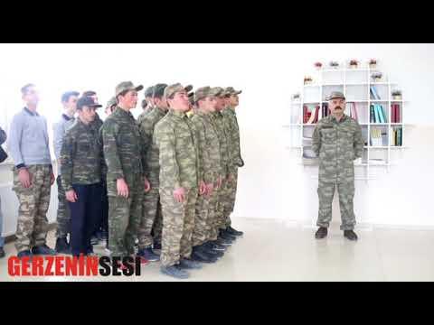 Gerze Anadolu İmam Hatip Lisesi Afrin'e Destek