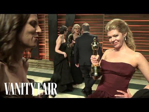 Dallas Buyers Club Makeup Artist Robin Matthews at the 2014 Vanity Fair Oscar Party