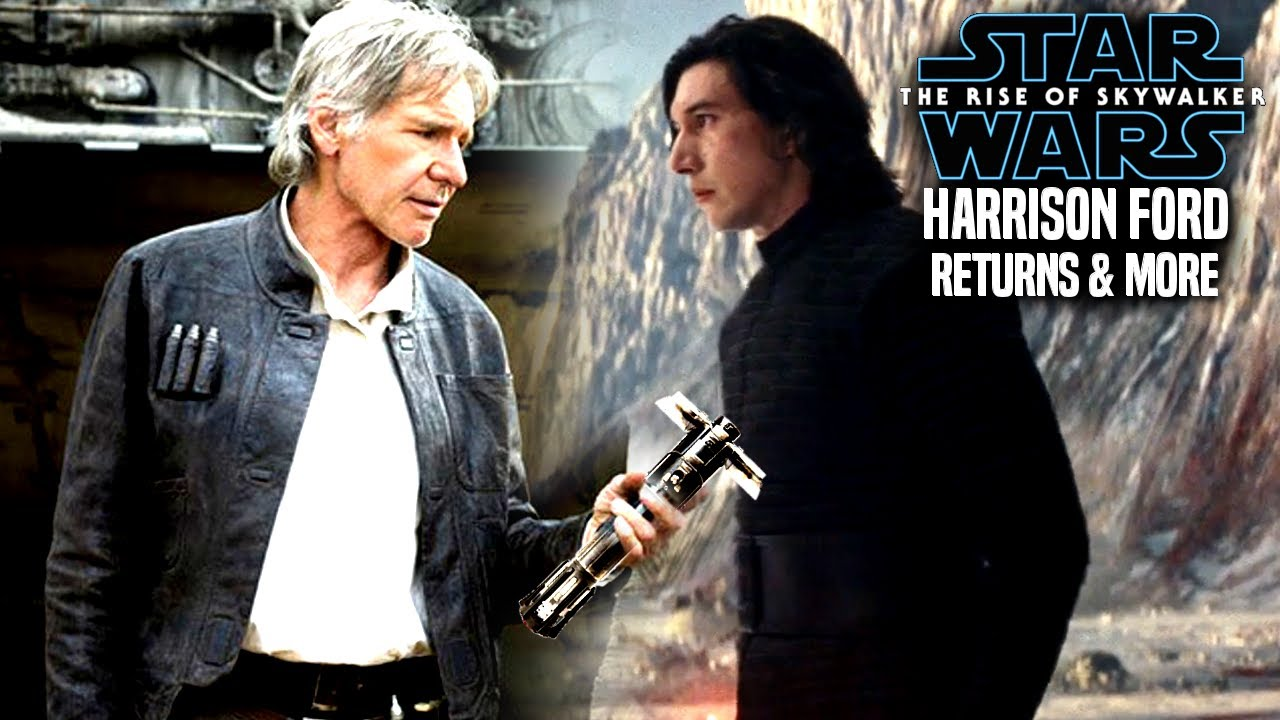 The Rise Of Skywalker Harrison Ford Is Back More Star Wars Episode 9 Youtube