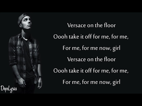Bruno Mars - Versace on The Floor (Lyrics)(Leroy Sanchez Cover)