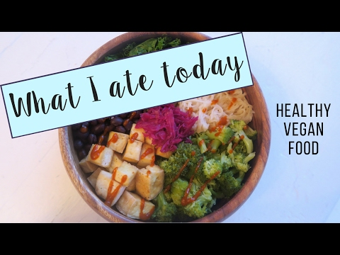 WHAT I ATE TODAY // HOW I WENT FROM RAW TO COOKED