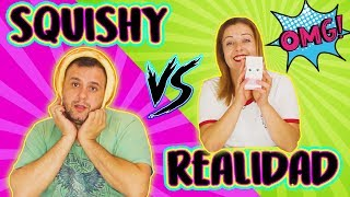 SQUISHY vs REAL food Challenge 2 |Squishy vs Realidad | Squishy Challenge