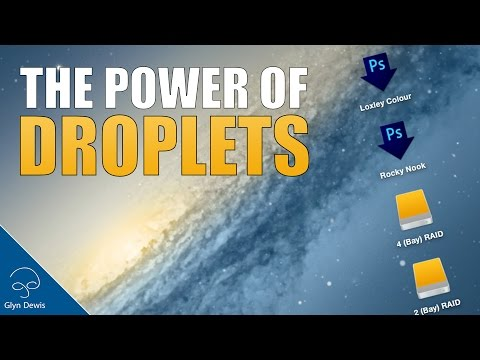 The POWER of Photoshop DROPLETS #98