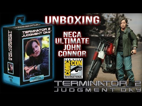 Unboxing Neca Ultimate John Connor SDCC 2019 Exclusive Review