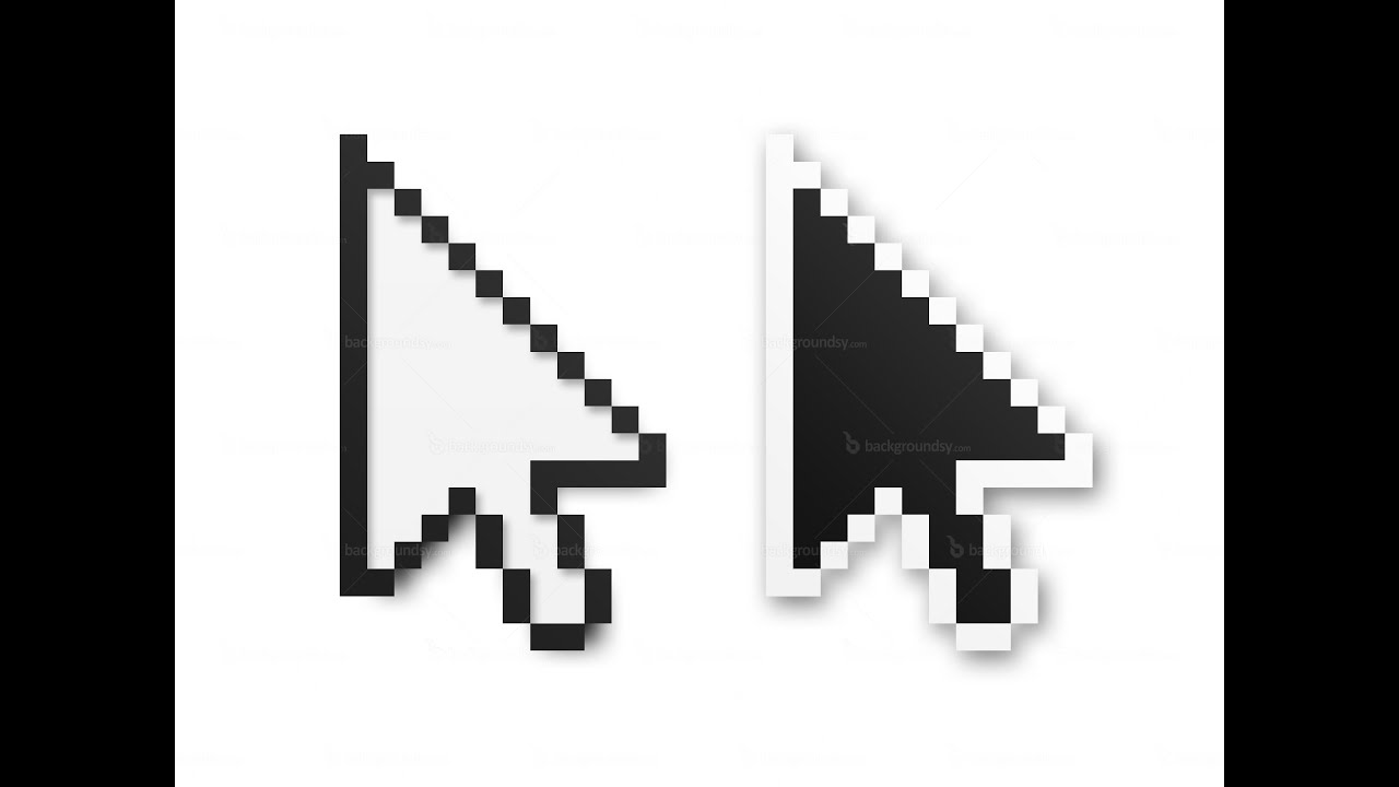 How to change the size of your mouse cursor (on mac) - YouTube