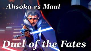 Ahsoka vs Maul with Duel of the Fates