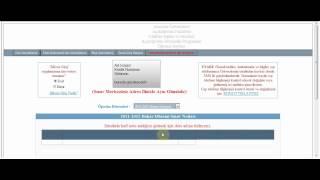 AÖF Sınav Yerleri - Sınav Giriş Belgesi 2012 Çıkarma