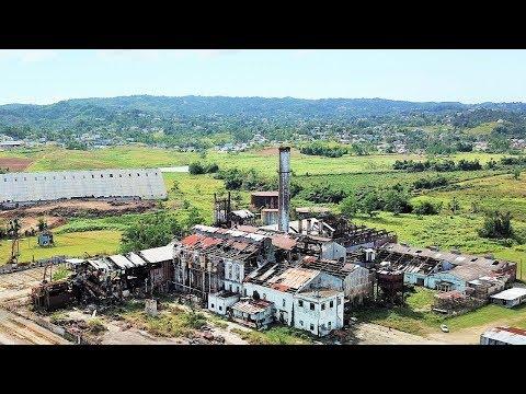 Coloso Sugar Cane Refinery, Aguada, Puerto Rico 2018