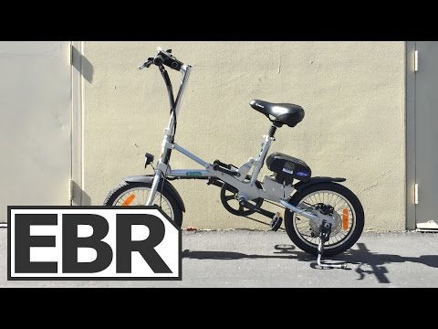 Green World Bike E-Trolley Video Review