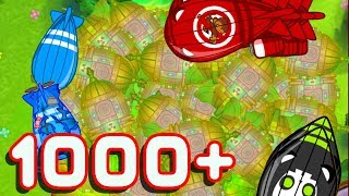 CAN 1000 + REACTOR SUBS REACH LEVEL 50+?!? | Bloons TD Battles Gameplay!