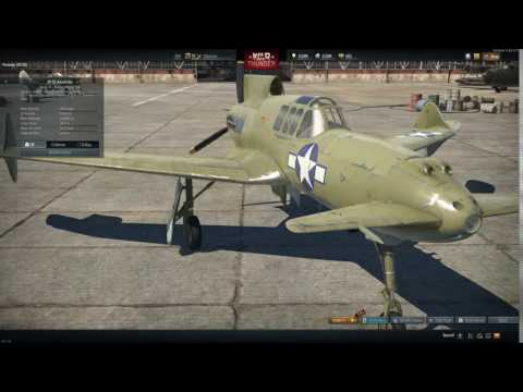 XP-55 Elevators Moving Mysteriously