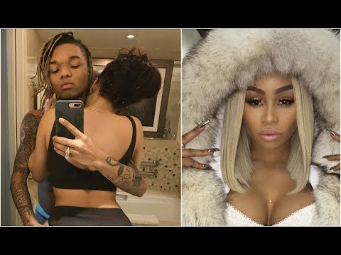 Swae Lee caught Cheating With Blac Chyna Girlfriend Puts Him On Blast