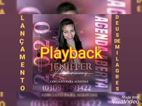 Lançamento( DEUS de milagres Playback ) cantora Jeniffer Martins