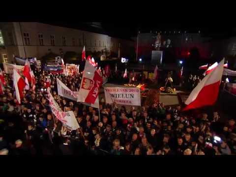 Jarosław Kaczyński – Wystąpienie Prezesa PiS podczas obchodów VII Rocznicy Katastrofy Smoleńskiej