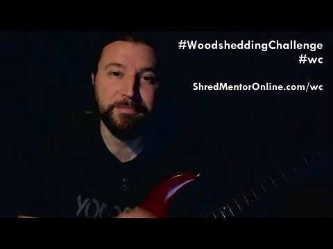 Take the Woodshedding Challenge