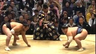 Мартовский турнир по Сумо 2014, 7-9 дни Хару Басё Осака  Haru Basho Osaka