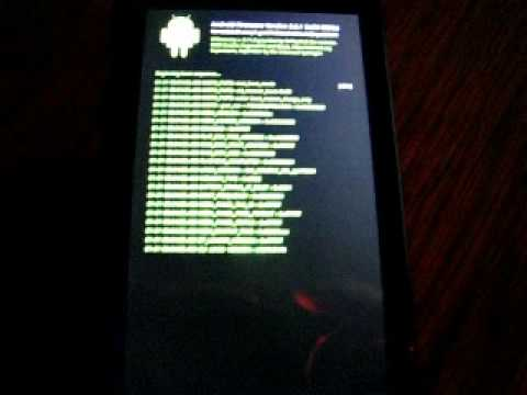 Droid Custom Boot Animation Boot Log Linux Style Youtube
