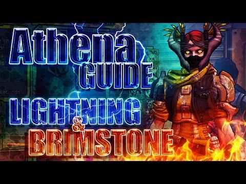 Borderlands Handsome Edition: Level 70 Athena Guide - Lightning & Brimstone Build