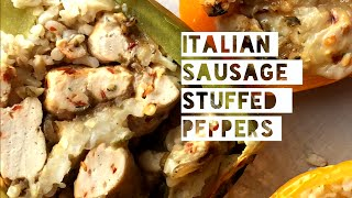Healthy Stuffed Pepper Recipe | How To Make Low Calorie & Low Carb Stuffed Peppers