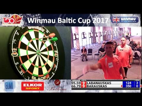 Baltic Cup Darts 2017 - mens singles final